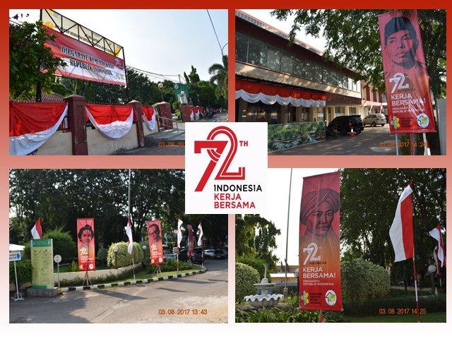 HUT RI Ke 72 #IndonesiaKerjaBersama